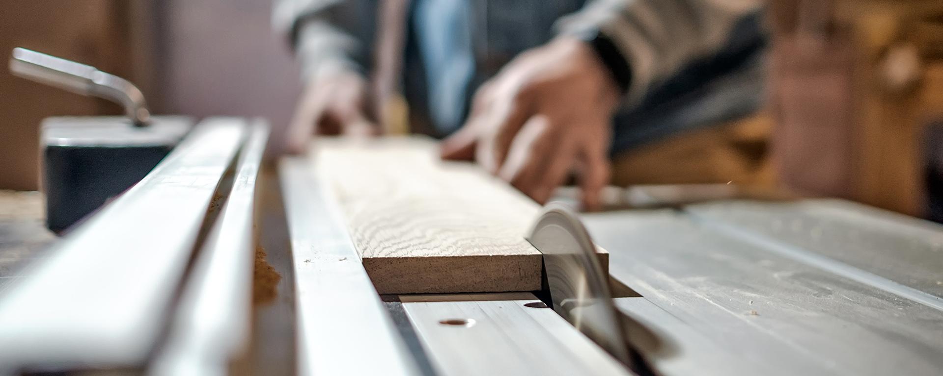 cabinet making shop